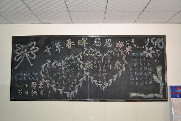 幼儿园简单黑板报设计图案大全