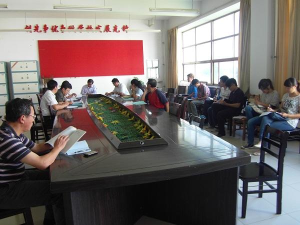 动物科技学院召开新生班主任会议